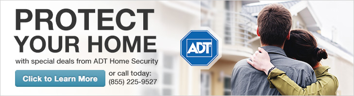 Protect your home with special deals from ADT Home Security