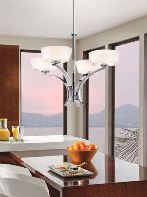 Kichler 42529 Rise Collection Chandelier