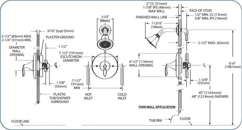 moen t2132 chrome single handle posi