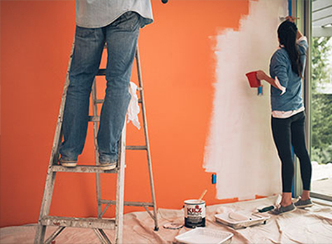 how much interior paint you should buy how to choose the right indoor. Black Bedroom Furniture Sets. Home Design Ideas