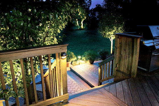 Kichler landscape lighting design kichler deck lighting aloadofball Choice Image