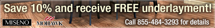 Save 5% on all Laminate flooring