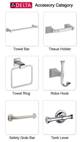Delta bathroom accessories for Delta bathroom accessories parts
