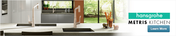Learn about the new Metris kitchen faucet by Hansgrohe