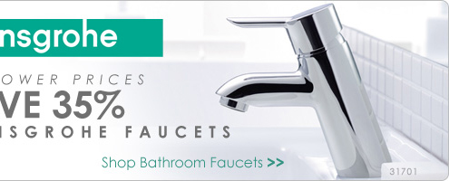 Save 35% on All Hansgrohe Bathroom Faucets - Shop Now!