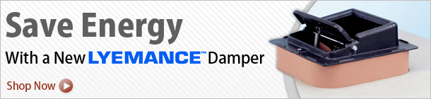 Save Big on Energy Saving Dampers by Lyemance!